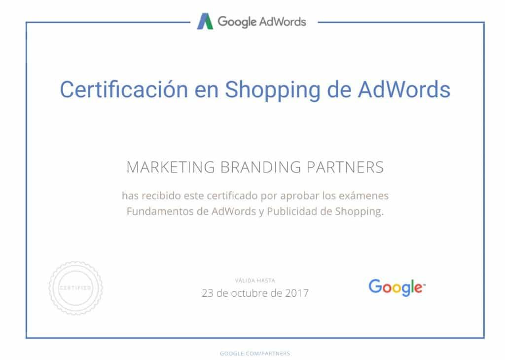 certificado google, certificado google shopping