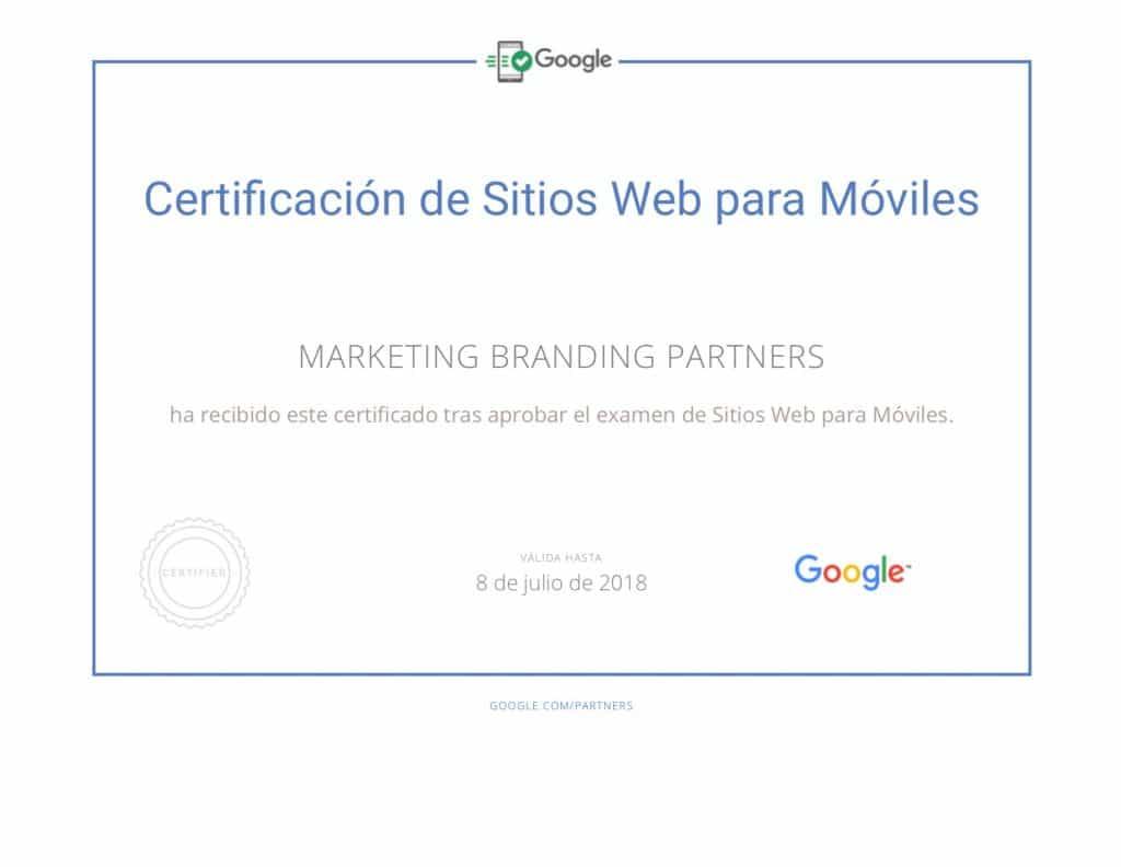 certificado google, certificado sitios web para moviles, certificado google adwords